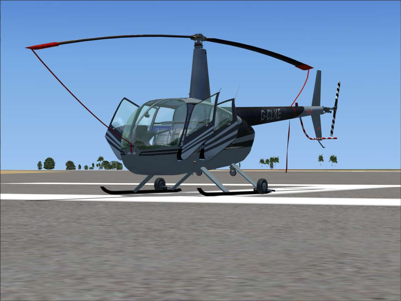 Just Flight - Flying Club R44 Helicopter
