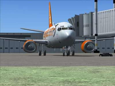 New in FSX - jet dock feature