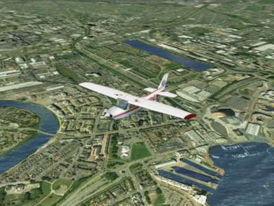 Screen shot for VFR Real Scenery - Cardiff