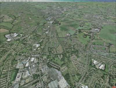 Screen shot for VFR Real Scenery - Leeds-Bradford