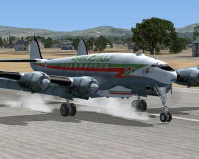 L-749 Air Maroc with Speed Pack