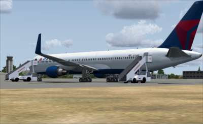 Screen shot for 767-200/300 Series Expansion Pack FOR FS2004