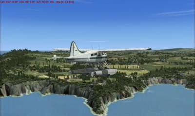 Welsh coast (VFR Real Scenery 10m Mesh)