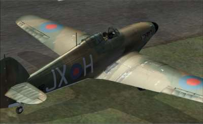 Screen shot for Battle of Britain - Hurricane