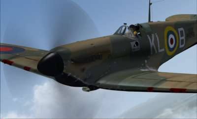 Screen shot for Battle of Britain - Spitfire