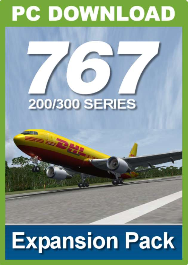 767-200/300 Series Expansion Pack (for FSX) - Just Flight