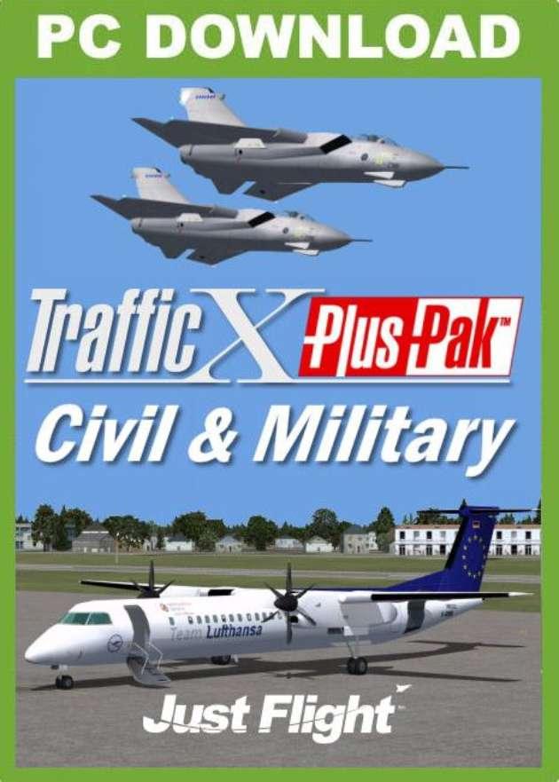 Just Flight - Traffic X PlusPak - Civil & Military