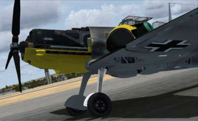 Screen shot for Battle of Britain - Me 109