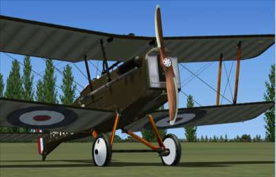 Screen shot for S.E.5A - Legends of Flight