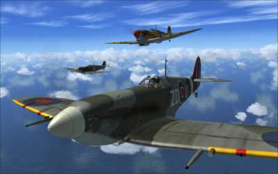 Screen shot for Spitfire Mk V - Legends of Flight