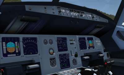 Screen shot for A318 Jetliner