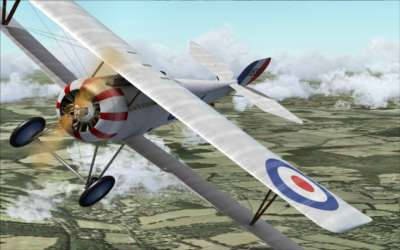 Screen shot for WWI Fighters (First Class Simulations)