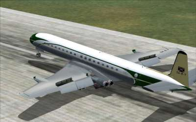 Screen shot for Comet Jetliner FOR FS2004