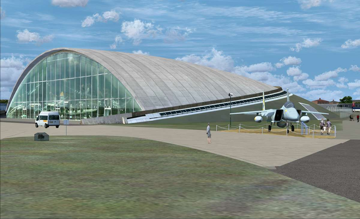 Just Flight - IWM Duxford (FREEWARE by Airfield Construction