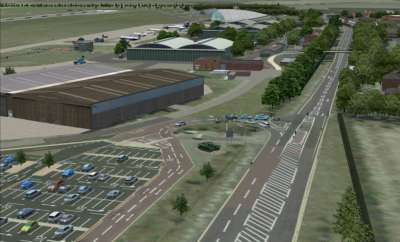 Screen shot for IWM Duxford (FREEWARE by Airfield Construction Group)