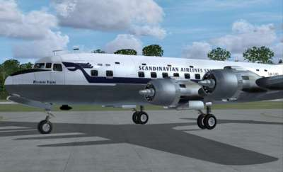 Screen shot for DC-6B - Legends of Flight Expansion Pack
