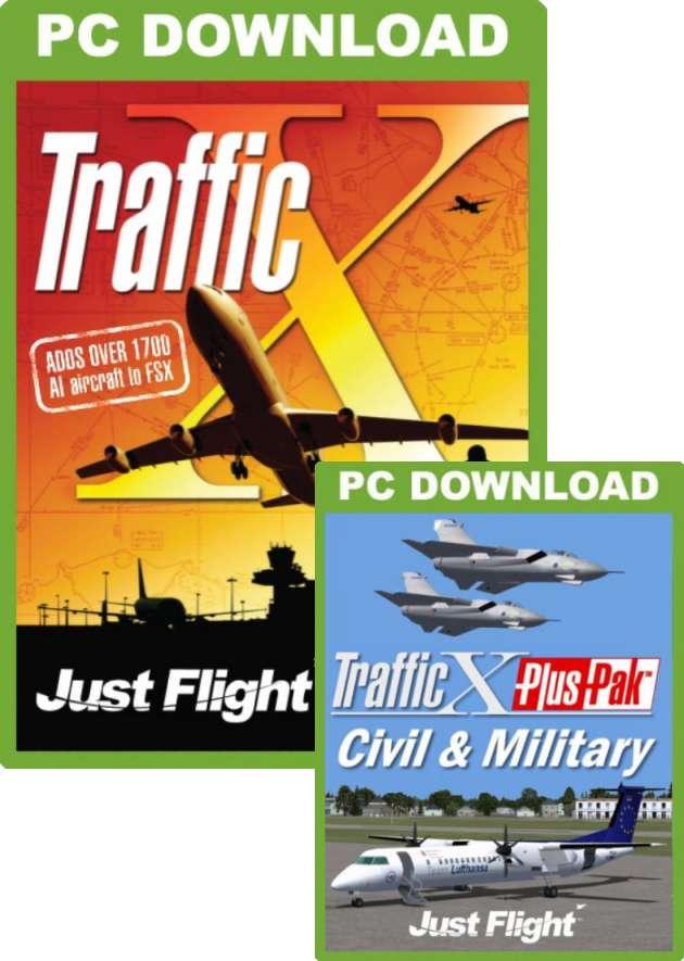 Just Flight - Traffic X + Civil & Military PlusPak