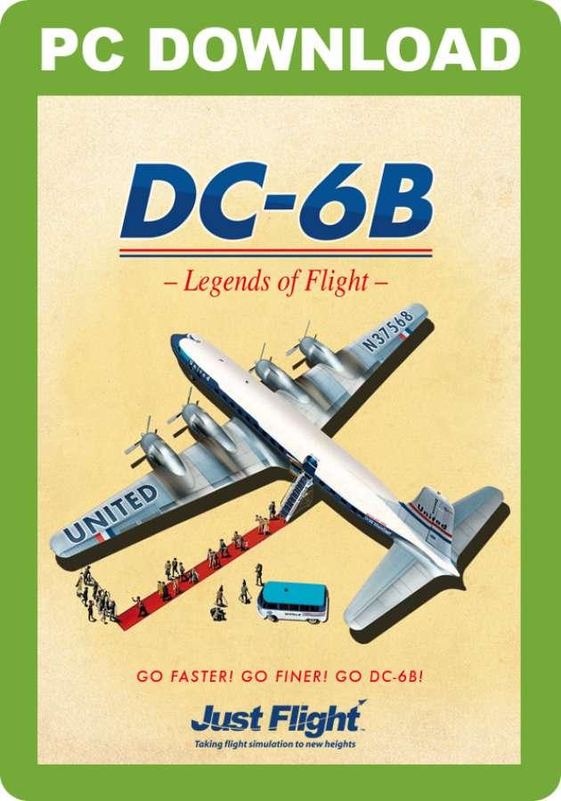 DC-6B - Legends of Flight - Just Flight