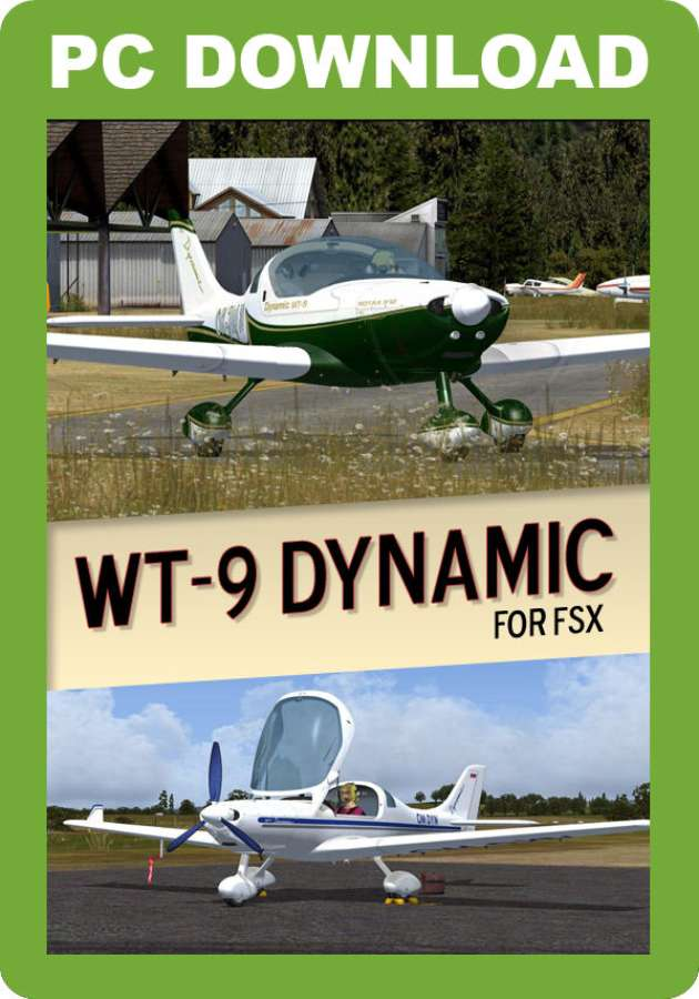 Just Flight - Lionheart Creations Aerospool WT-9 Dynamic (for FSX & P3D)