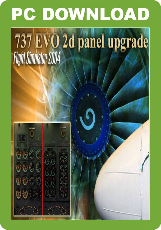 Just Flight - 737 EVO 2D Panel Upgrade for FS2004