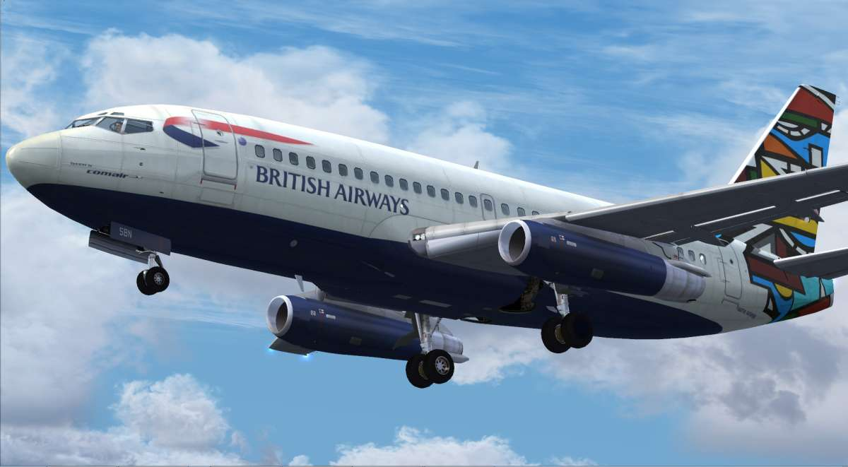 Just Flight - 737 Professional - 737-200 Early Version