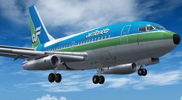 Just Flight - 737 Professional + 737-100 and 737-200 & T-43A
