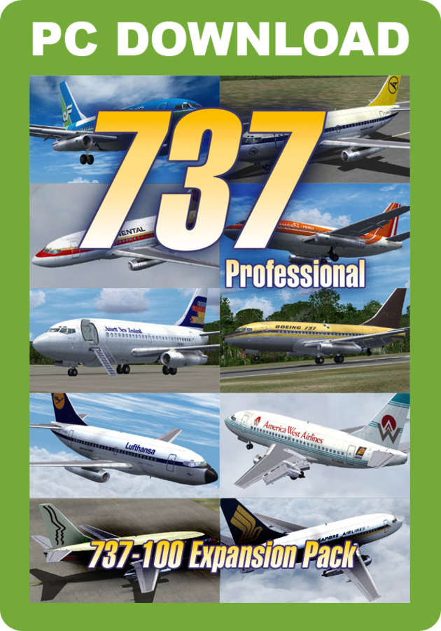 Just Flight - 737 Professional - 737-100 Expansion Pack