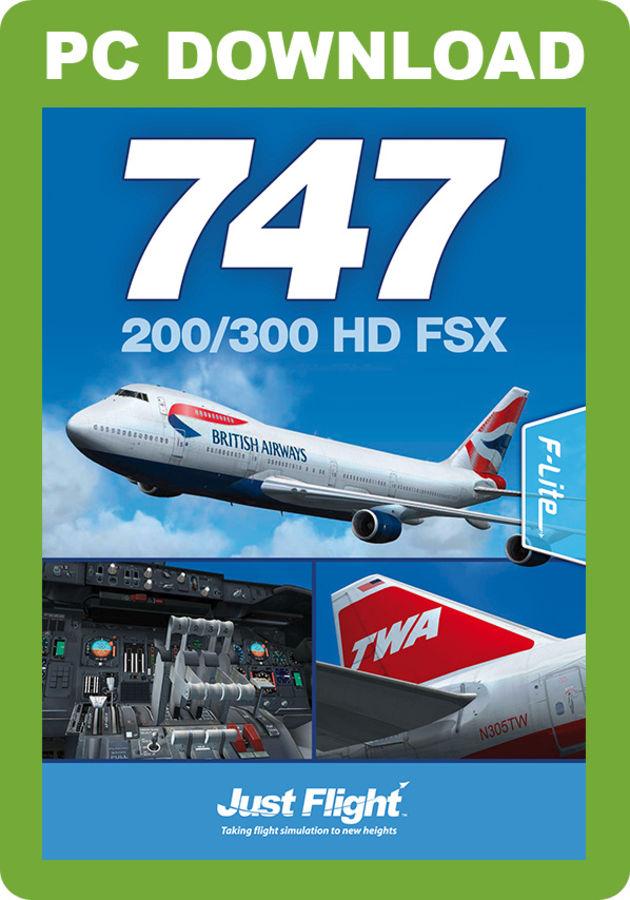Just Flight - 747-200/300 HD FSX