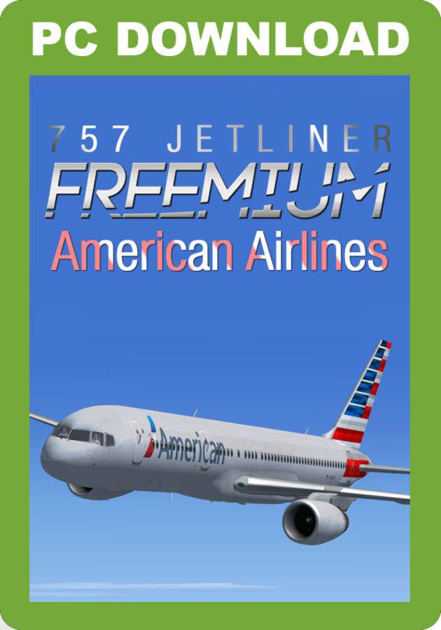 Just Flight - 757 Jetliner Freemium - FREE American Airlines 2013 livery