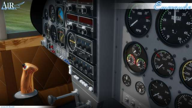 A1R Piel Emeraude (for P3D)