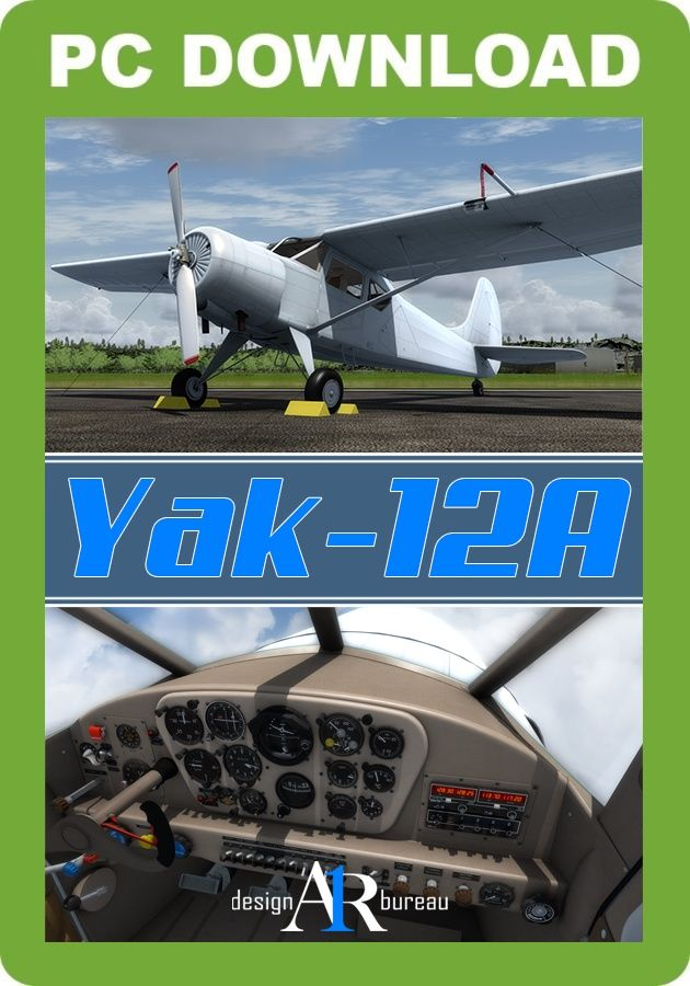 Just Flight - A1R Yak-12A (for P3D v1-v3 & FSX)