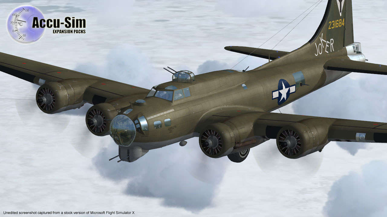 A2A Simulations B-17G Flying Fortress with Accu     - Just Flight