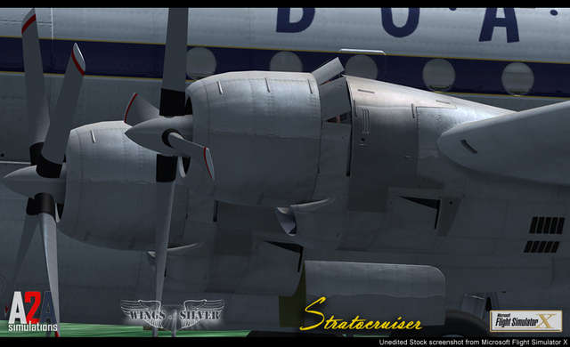 Just Flight - A2A Simulations B377 Stratocruiser with Accu