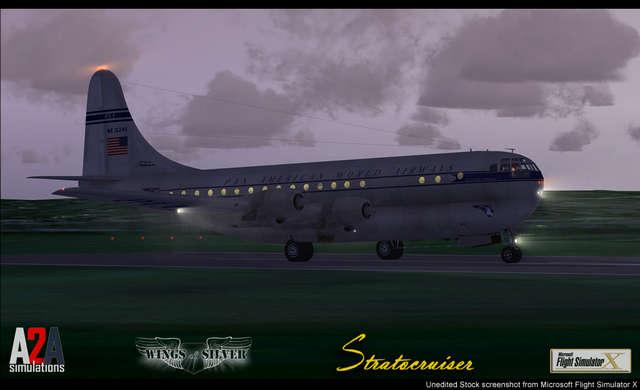 Just Flight - A2A Simulations B377 Stratocruiser with Accu-Sim