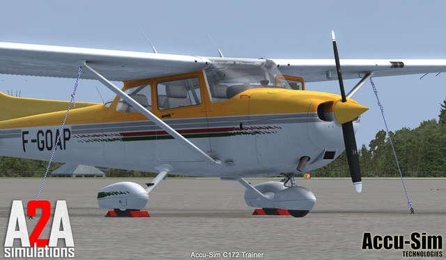 A2A Simulations - C Trainer With Accu-Sim for FSX - FlightSim Pilot Shop