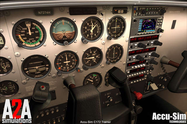 Just Flight - A2A Simulations Cessna 172 with Accu-Sim (for FSX)