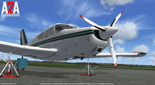 A2A Comanche 250 with Accu-Sim (for FSX)