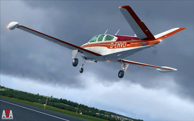 A2A Simulations Accu-Sim Bonanza (for FSX)