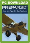 A2A Simulations Accu-Sim Piper J-3 Cub (for P3D v4 Academic)