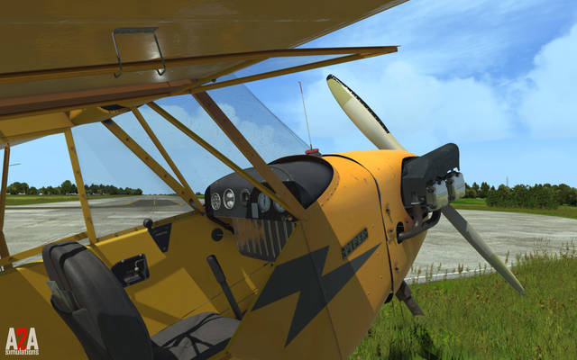 A2A Simulations Accu-Sim Piper J-3 Cub (for P3D v4 Professional)