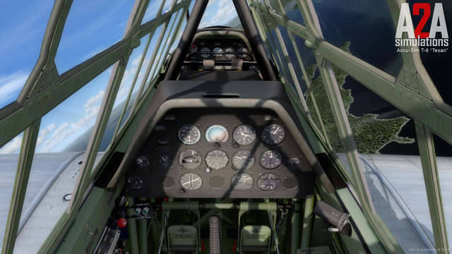 A2A Simulations T-6 Texan with Accu-Sim (for FSX & P3D)