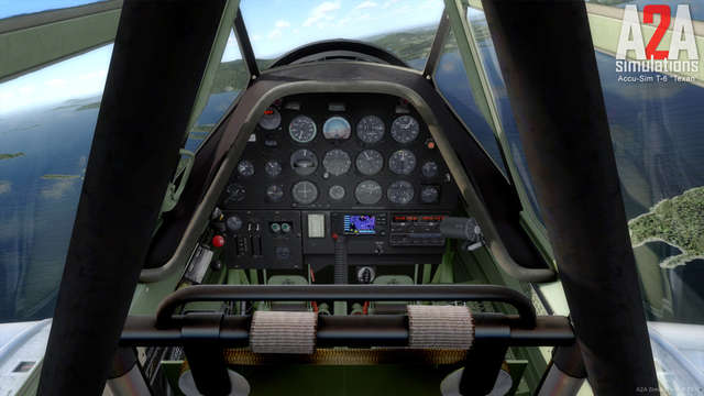 A2A Simulations T-6 Texan with Accu-Sim (for P3D)