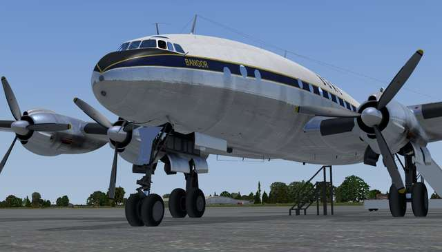 A2A Simulations Captain of the Ship L049 Constellation (for FSX)