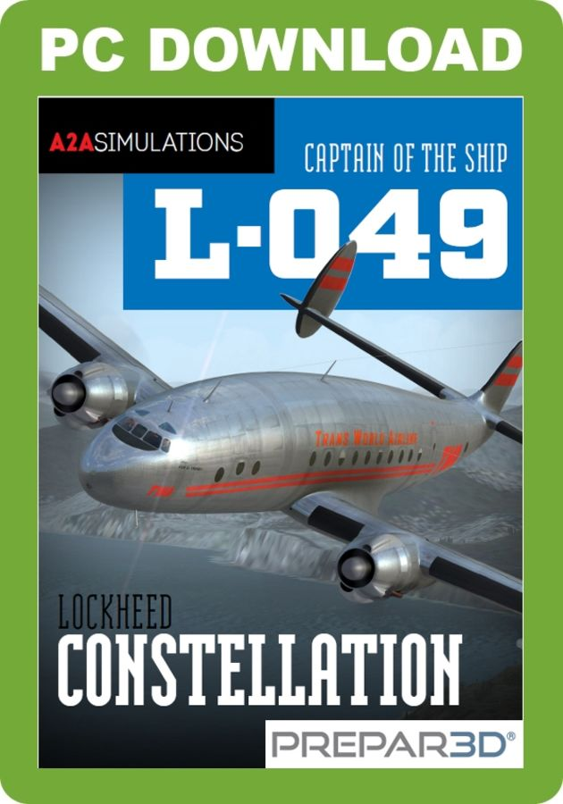 Just Flight - A2A Simulations Captain of the Ship L-049