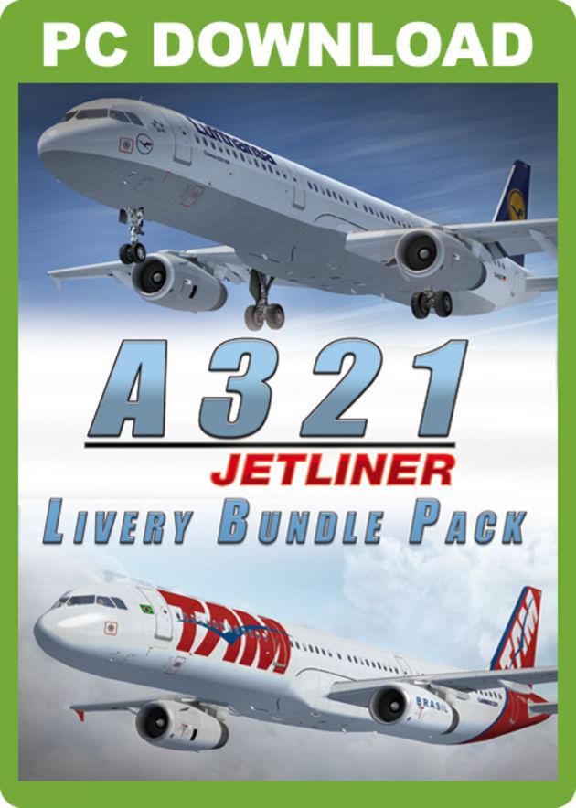Just Flight - A321 Jetliner Livery Bundle Pack
