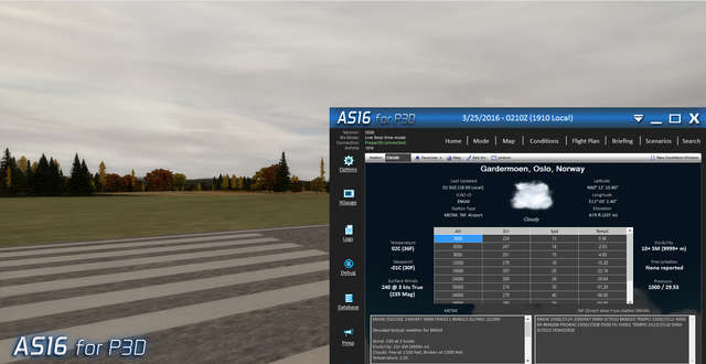 Active Sky 2016 Upgrade (for P3D)