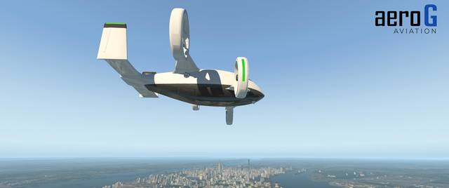 aeroG Aviation - AG-4 eVTOL 'Liberty'