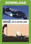 aeroG Aviation - UV-4 eVTOL UAV (for P3D v4)