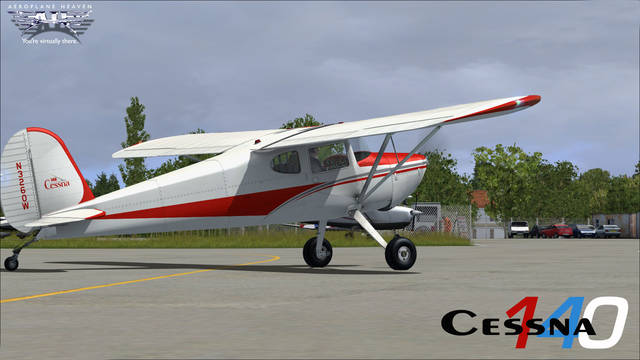 Aeroplane Heaven Cessna 140 Bundle