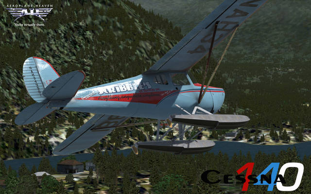 Just Flight - Aeroplane Heaven Cessna 140 for FSX & P3D v3/4 3 (NON PBR)